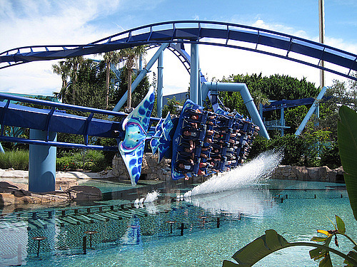 Manta at Seaworld